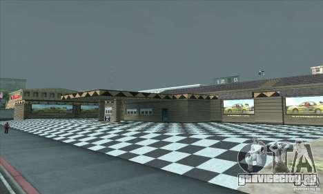 Обновленный гараж СJ в SF для GTA San Andreas третий скриншот