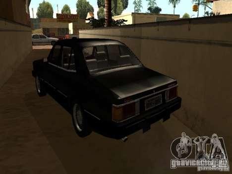 Chevrolet Opala BMT для GTA San Andreas вид сзади слева