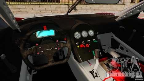Bugatti Veyron 16.4 Body Kit Final Stock для GTA 4 вид сзади