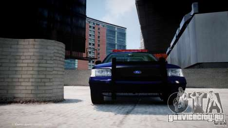 Ford Crown Victoria New York State Patrol [ELS] для GTA 4 колёса