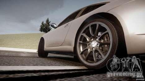 Porsche GT3 997 для GTA 4 вид снизу