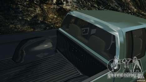 Chevrolet S-10 Colinas Cabine Dupla для GTA 4 двигатель