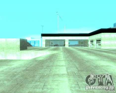 HD Автосалон для GTA San Andreas одинадцатый скриншот