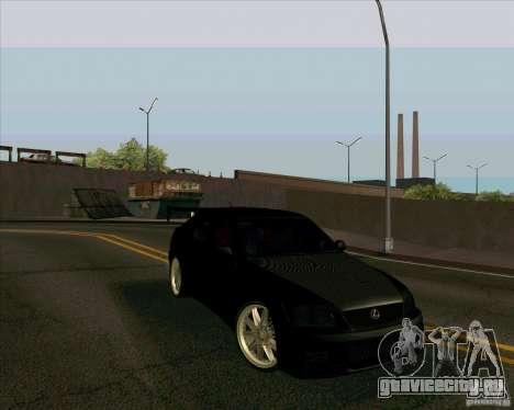 LEXUS IS300 Light tuned для GTA San Andreas