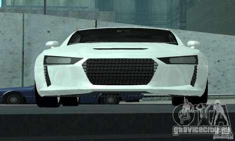Audi Quattro Concept 2013 для GTA San Andreas вид сверху