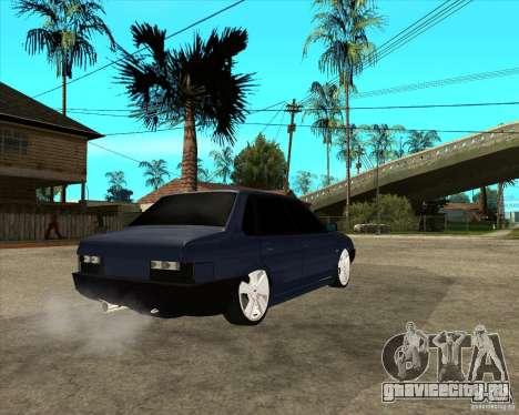 ВАЗ 21099 Light Tuning by Diman для GTA San Andreas вид сзади слева