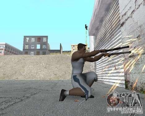 Настоящие гильзы (3D гильзы) для GTA San Andreas второй скриншот
