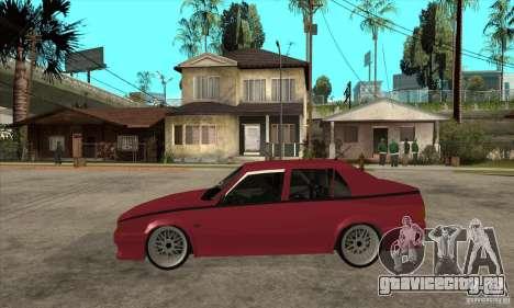 Alfa Romeo 75 Drifting для GTA San Andreas вид слева