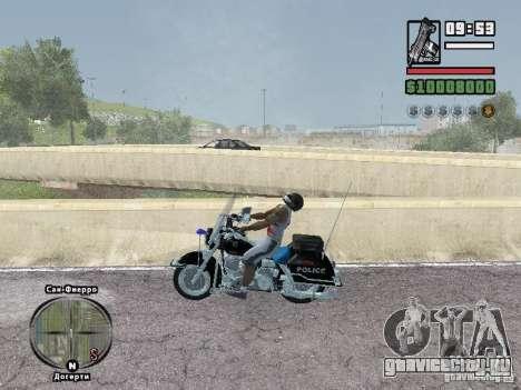 Helmet mod для GTA San Andreas второй скриншот