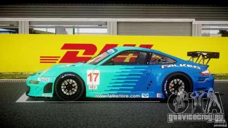 Porsche GT3 RSR 2008 для GTA 4 вид слева