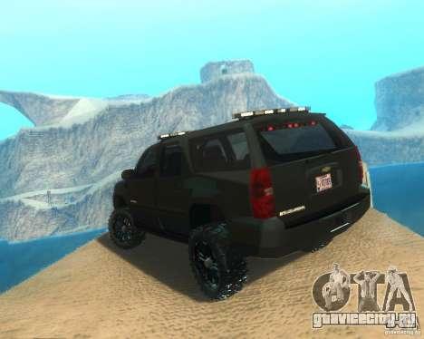 Chevrolet Suburban Crankcase Transformers 3 для GTA San Andreas вид слева