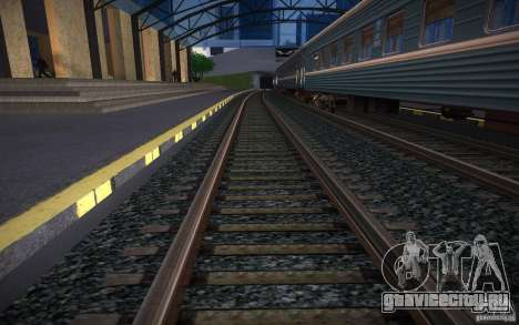 HD Рельсы v2.0 Final для GTA San Andreas третий скриншот