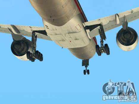 Boeing 777-200 American Airlines для GTA San Andreas вид сзади