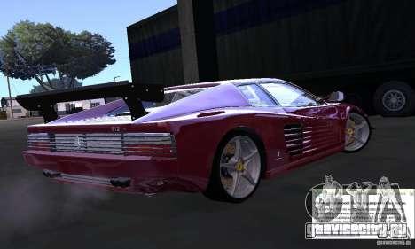 Ferrari 512 TR для GTA San Andreas вид слева