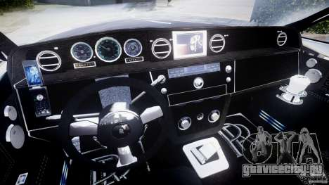 Rolls Royce Phantom Sapphire Limousine Disco для GTA 4 вид сзади