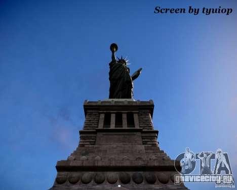 New Statue of Liberty для GTA 4 второй скриншот
