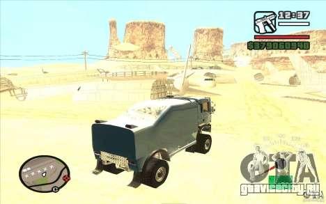 MAN TGA для GTA San Andreas вид слева