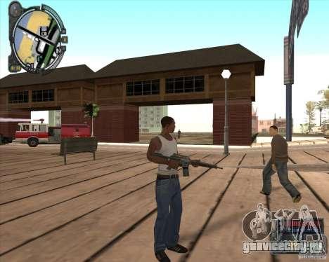 S.T.A.L.K.E.R. Call of Pripyat HUD for SA v1.0 для GTA San Andreas