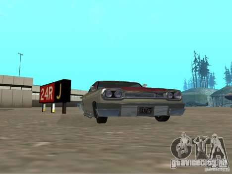Voodoo из GTA 4 для GTA San Andreas вид слева
