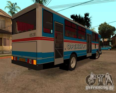 Autosan H10-11B full Orenburg stickers для GTA San Andreas вид справа