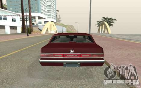Chrysler Dynasty для GTA San Andreas вид сзади слева