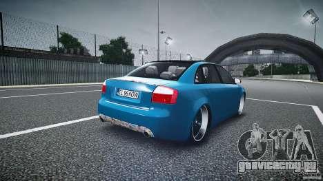 Audi S4 Custom для GTA 4 вид сбоку