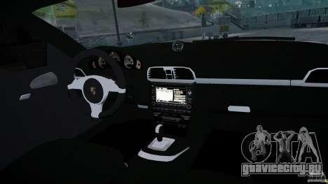 Porsche Targa 4S 2009 для GTA 4 вид сбоку