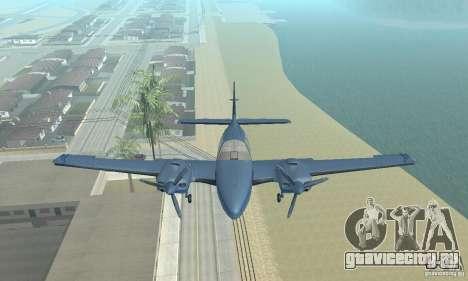 Beechcraft Baron 58 T для GTA San Andreas вид справа