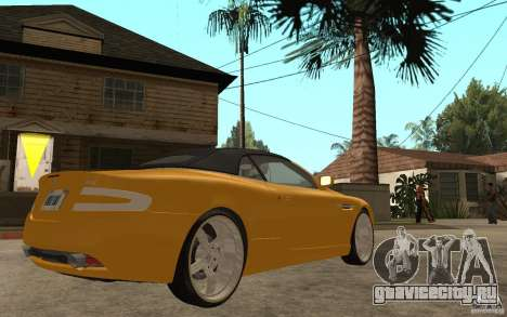 Aston Martin DB9 Volante для GTA San Andreas