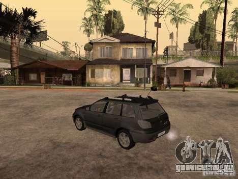 Mitsubishi Outlander 2003 для GTA San Andreas вид слева