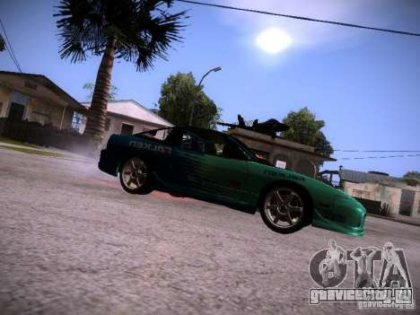 Nissan 200SX Falken Tire для GTA San Andreas вид слева