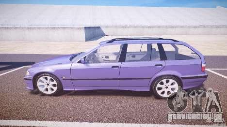BMW 318i Touring для GTA 4 вид слева