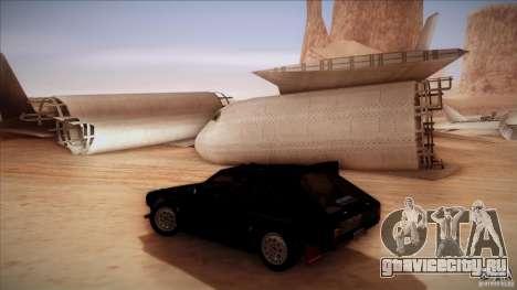Lancia Delta S4 для GTA San Andreas вид сзади слева