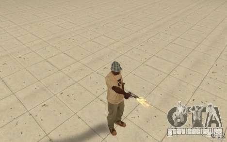 Разные стили стрельбы из пистолета 9mm для GTA San Andreas второй скриншот