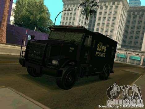 Stokade SAPD SWAT Van для GTA San Andreas