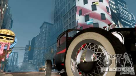 Smith 34 Hot Rod для GTA 4 вид сбоку