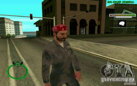 Mechanik HD Skin для GTA San Andreas второй скриншот