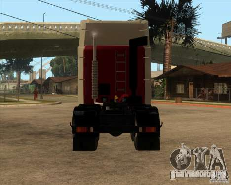 Супер ЗиЛ v.2.0 для GTA San Andreas вид сзади слева