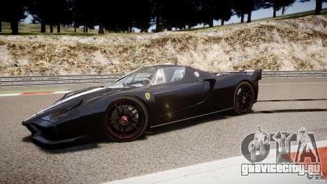 Ferrari FXX для GTA 4 вид сверху