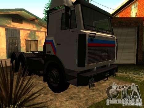 МАЗ 642205 v1.0 для GTA San Andreas вид сзади
