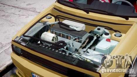 Volkswagen Golf MK2 Tuning для GTA 4 вид изнутри