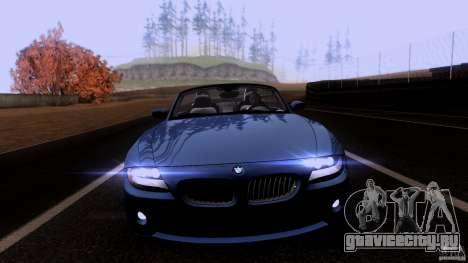 BMW Z4 V10 для GTA San Andreas вид слева