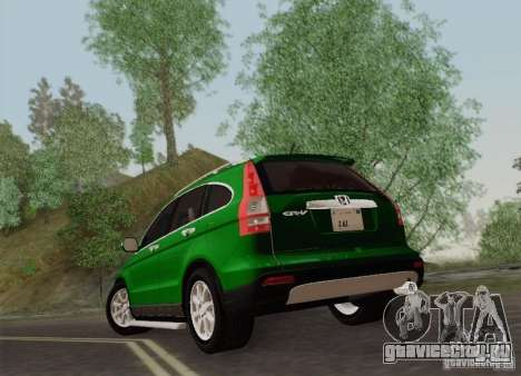 Honda CRV 2011 для GTA San Andreas вид справа
