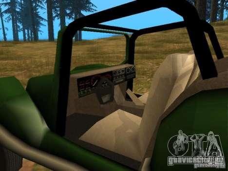 Новый BF Injection для GTA San Andreas вид сзади