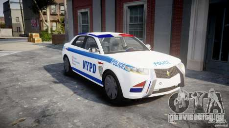 Carbon Motors E7 Concept Interceptor 2012 NYPD [ELS] для GTA 4