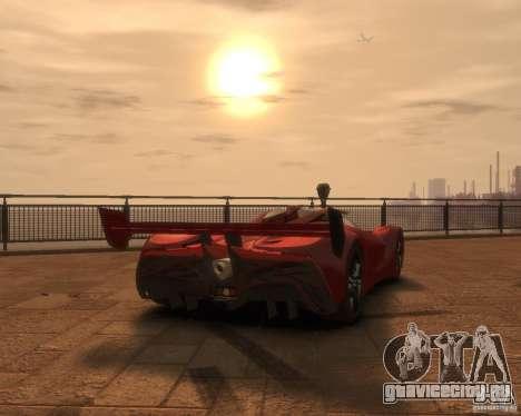 Mazda Furai для GTA 4 вид слева