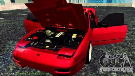 Nissan Onivia для GTA San Andreas вид сзади