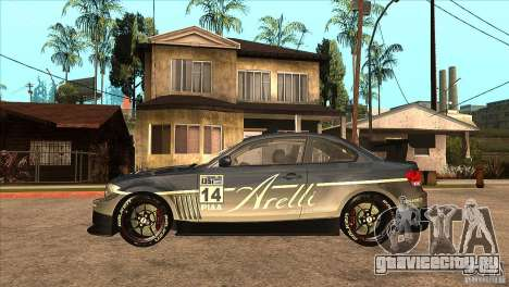 BMW 135i Coupe GP Edition Skin 3 для GTA San Andreas вид слева