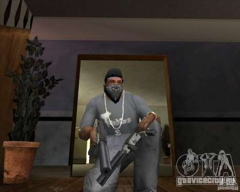 Ingram MAC-10 из Counter-Strike для GTA San Andreas