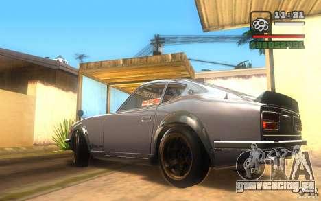 Datsun 240ZG для GTA San Andreas вид сзади слева